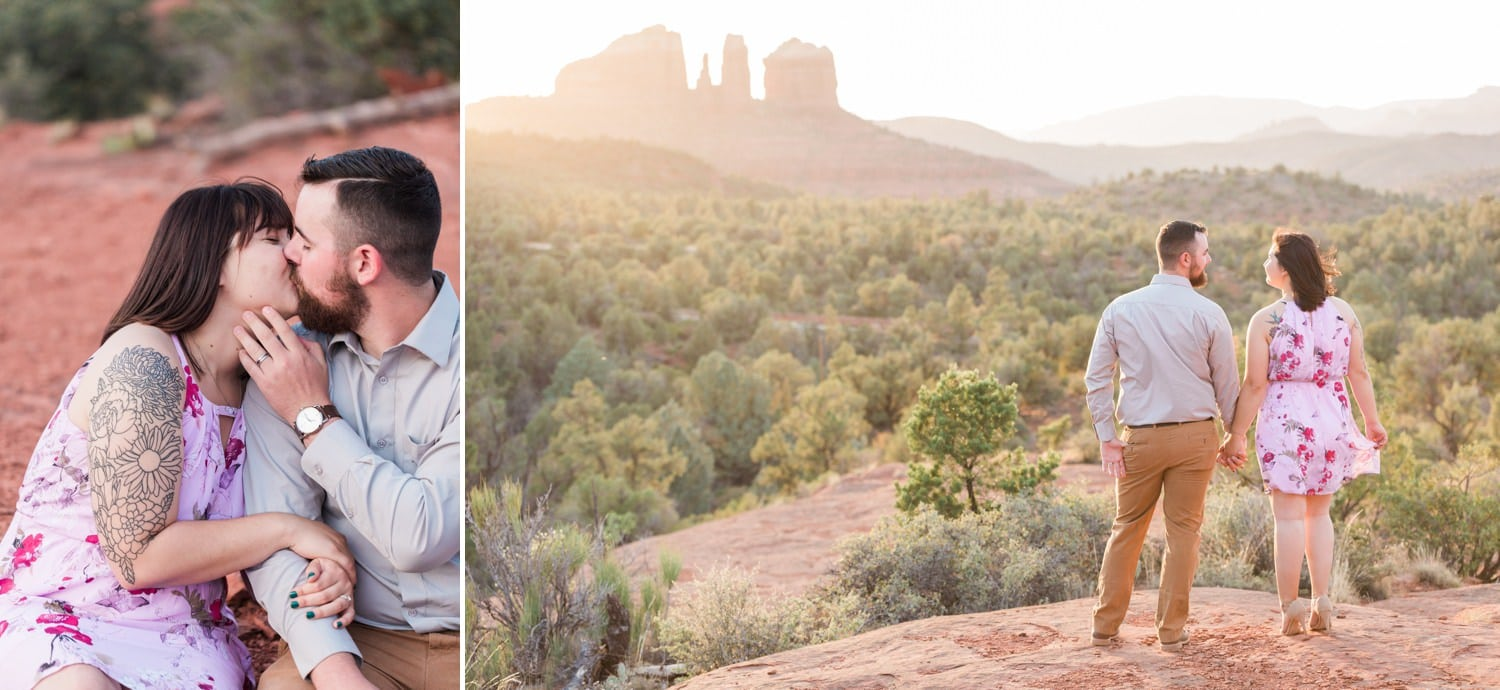 Sedona engagement photos