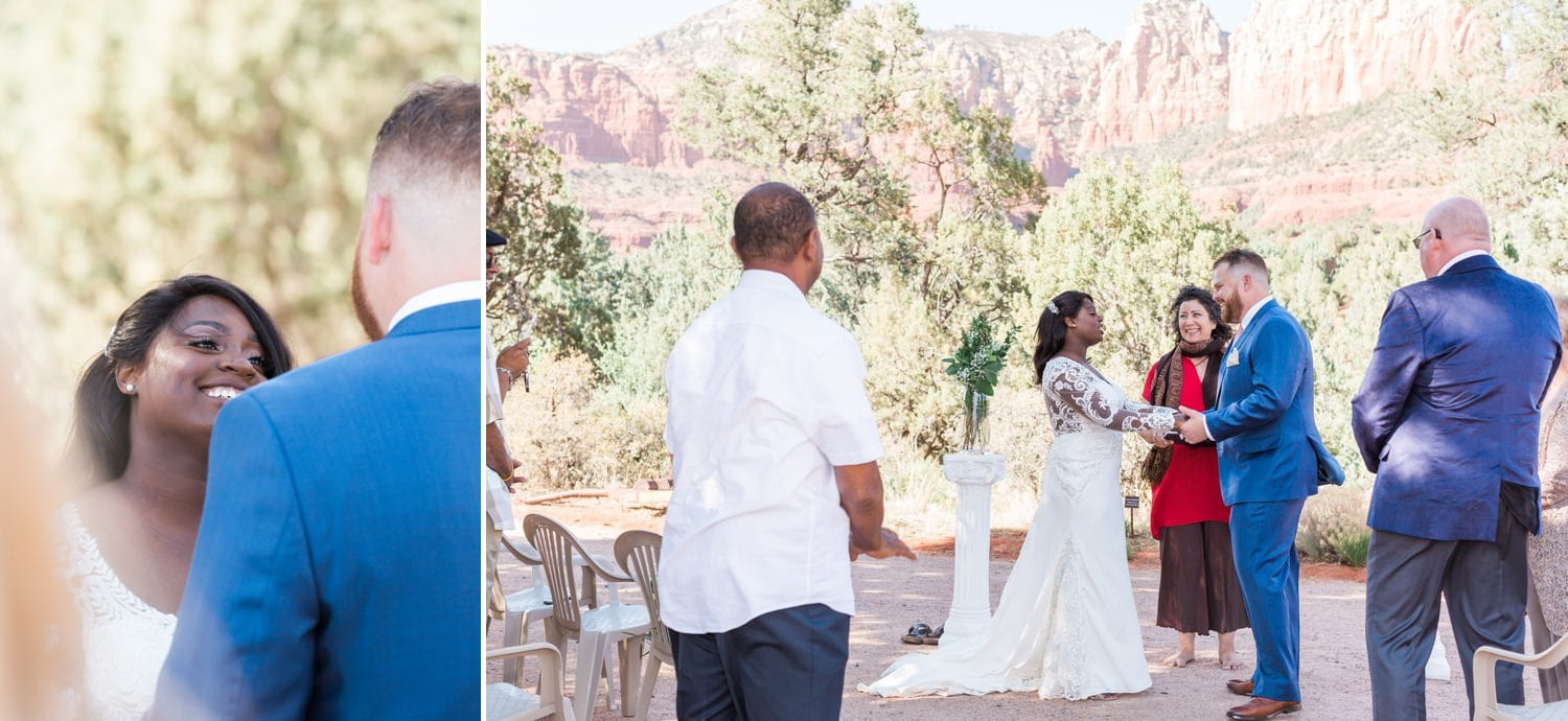 Intimate Sedona Wedding