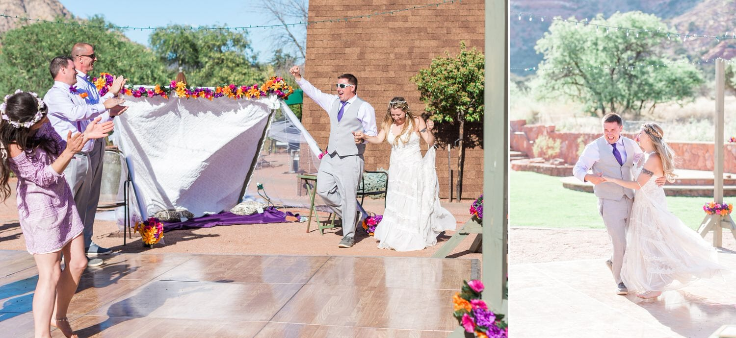 Bohemian Sedona Wedding