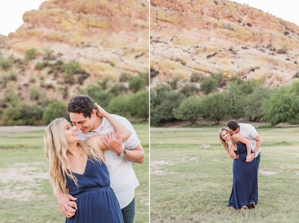 Tonto national forest engagement photos