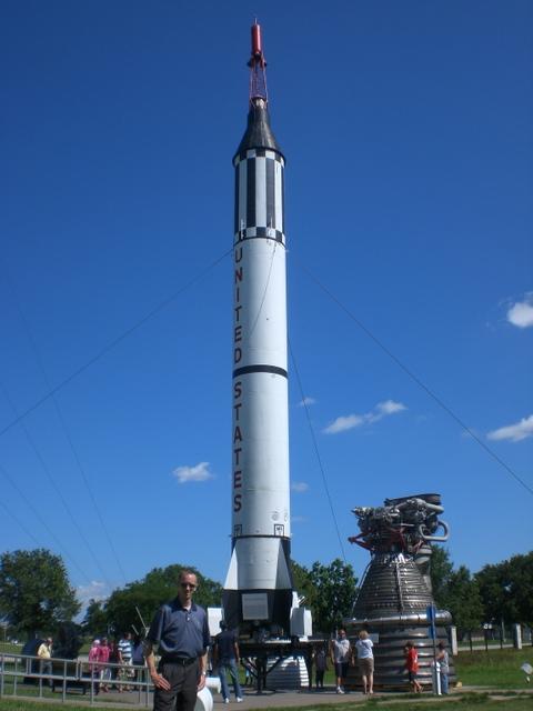 A Mercury Redstone Rocket