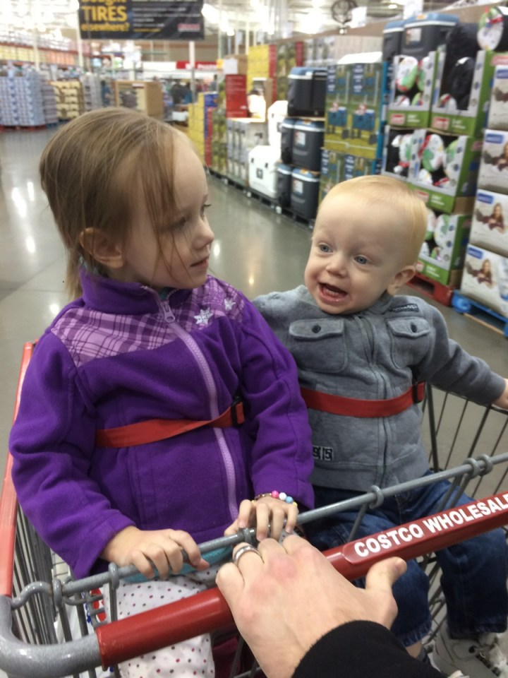 We got a costco membership this week and took our first trip.