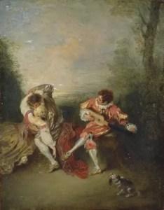 Watteau: La surprise