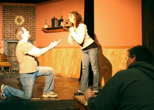 Improv acting is pretend play