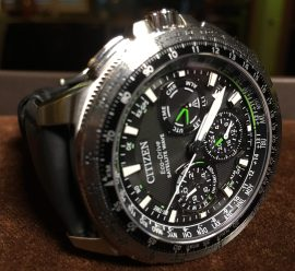 Citizen Eco-Drive Satellite Wave © 2017 Adam Brown