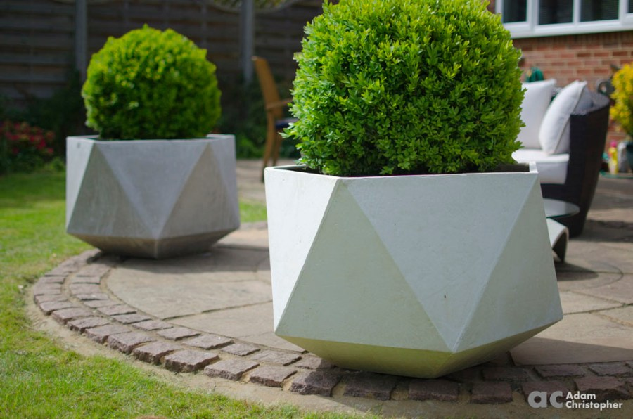 How to Have Large Flower Pots Outdoors   Award Winning Contemporary     How to Have Large Flower Pots Outdoors