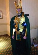 Loki creeping.