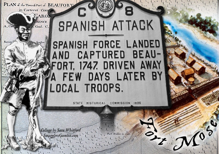 The Spanish Invasion of Beaufort: How slaves turned settlers became pawns in Spain's hand