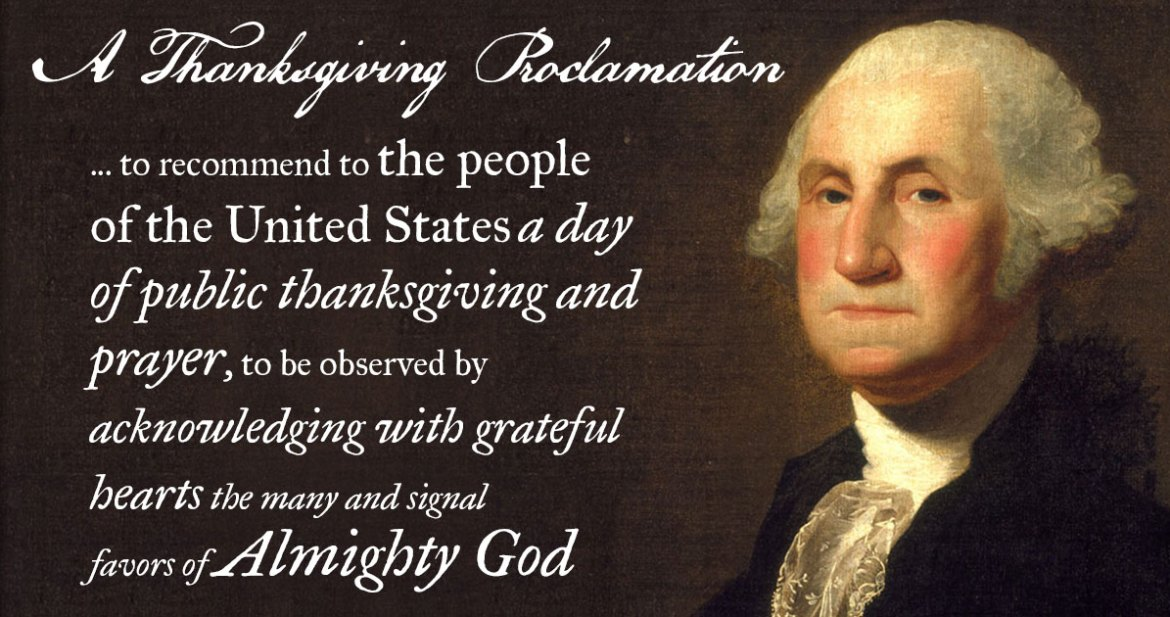 George Washington's Thanksgiving Proclamation of 1789