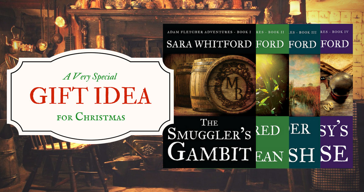 Christmas Gift Idea with book covers