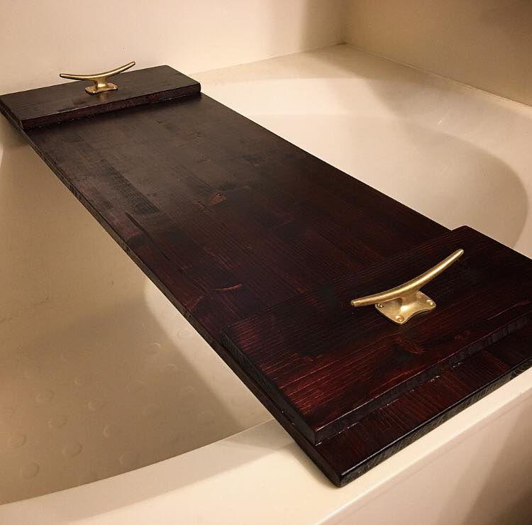 wooden bath tray – adam g. oestreich