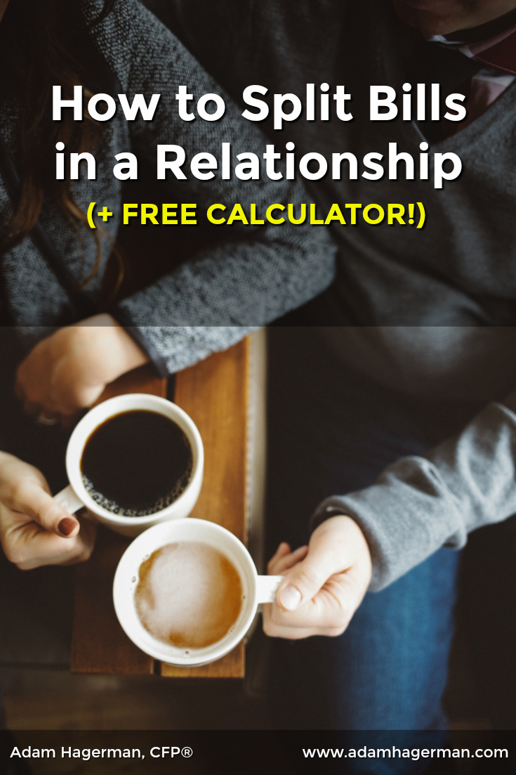 Explore ways to split expenses in a relationship and determine the most equitable. There's a free calculator included!