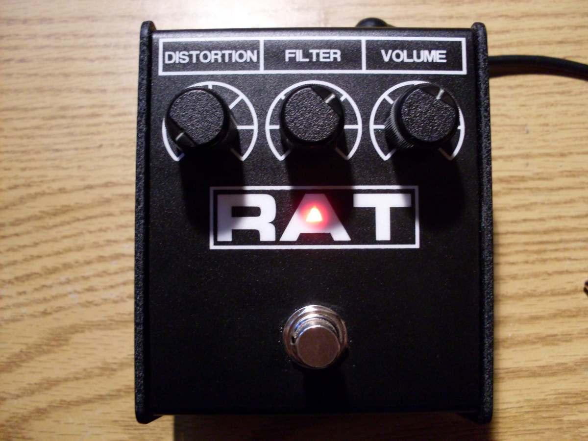 Guitar Overdrive Pedal Shootout : ProCo Rat 2 Review.