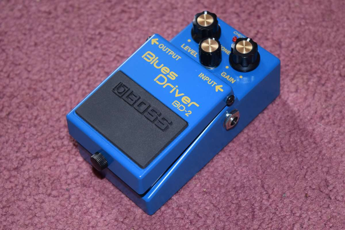 Guitar Overdrive Pedal Shootout: BOSS Blues Driver BD-2 Review