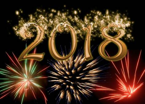 Happy 2018 from The Blogging Musician!