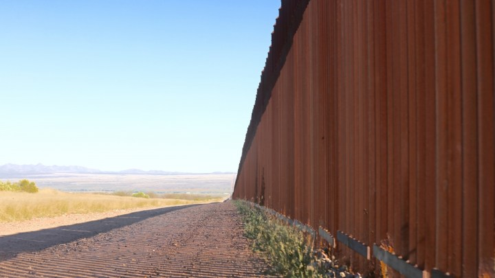 Border wall photo