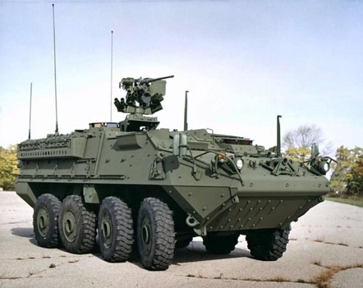 Stryker combat vehicle