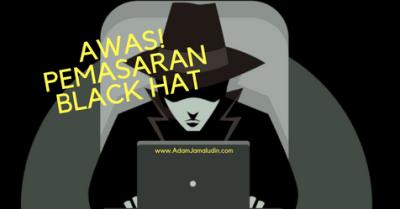pemasaran black hat