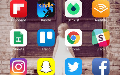 The Apps on my Home Screen for 2017