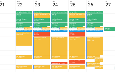Designing your perfect week