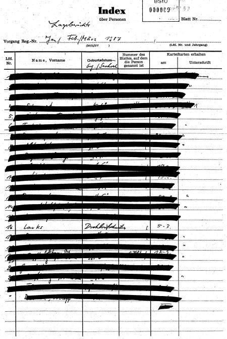 Lagebericht der Terrorabwehr(!?) Januar/Februar/März 1987