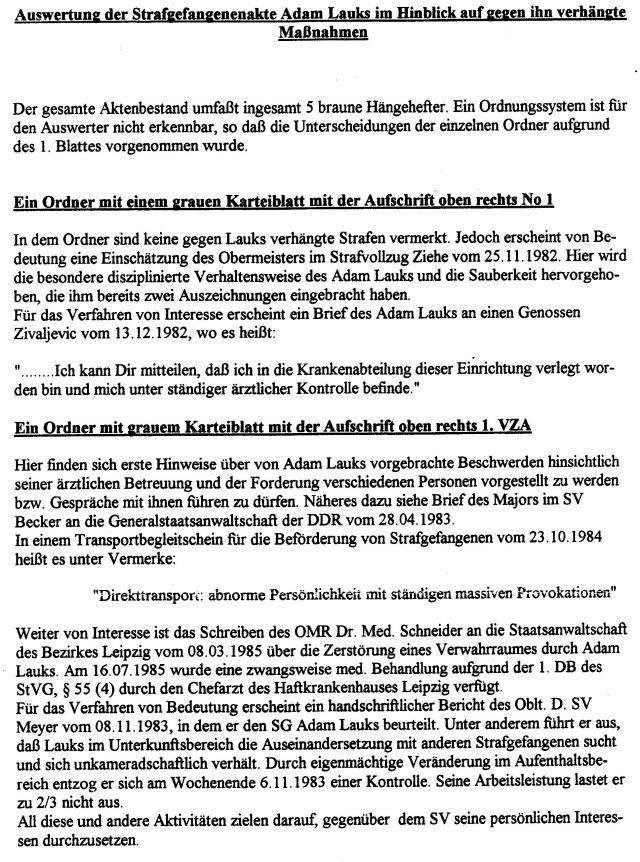 Ermittler Schaika kann am 5.11.1996 die Akte gar nicht eingesehen haben.