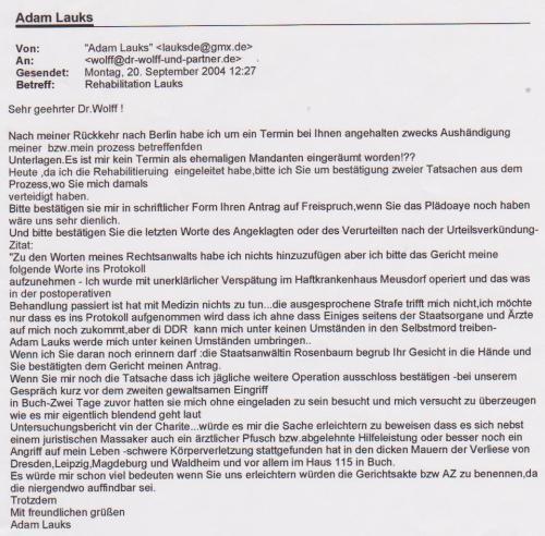 IM JURA- Dr Friedrich Wolff erklärt ALLES Spion der HVA