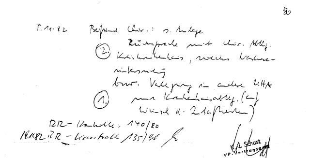 Zersetzung von Adam Lauks 1982.11.05.1