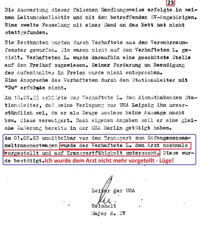 Zersetzung von Adam Lauks 1983.02.22.1