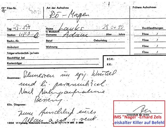 Zersetzung von Adam Lauks 1983.03.25.1