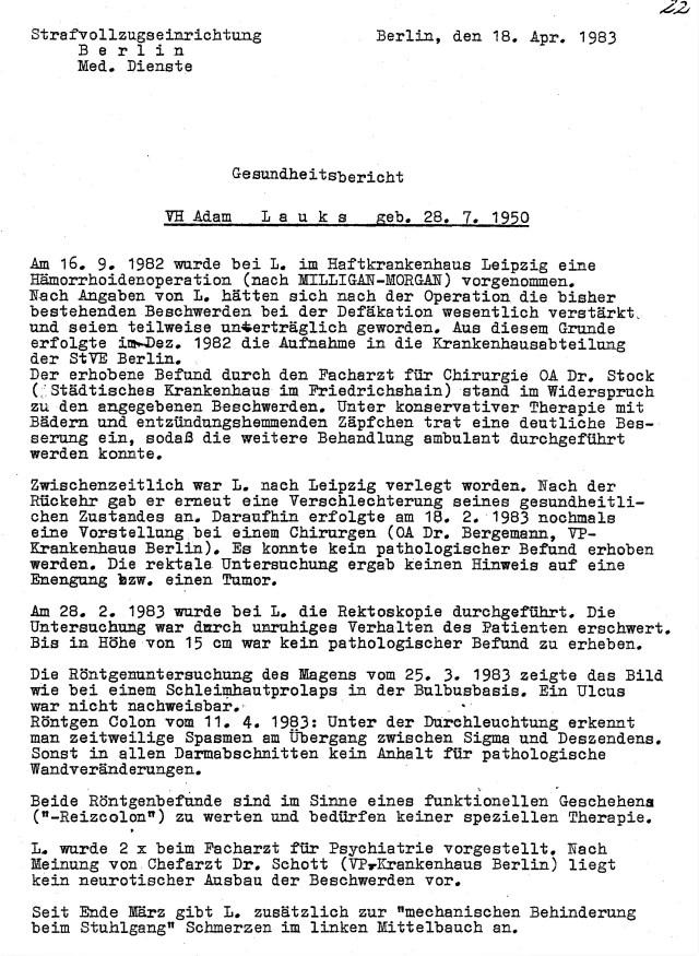 Zersetzung von Adam Lauks 1983.04.18.3