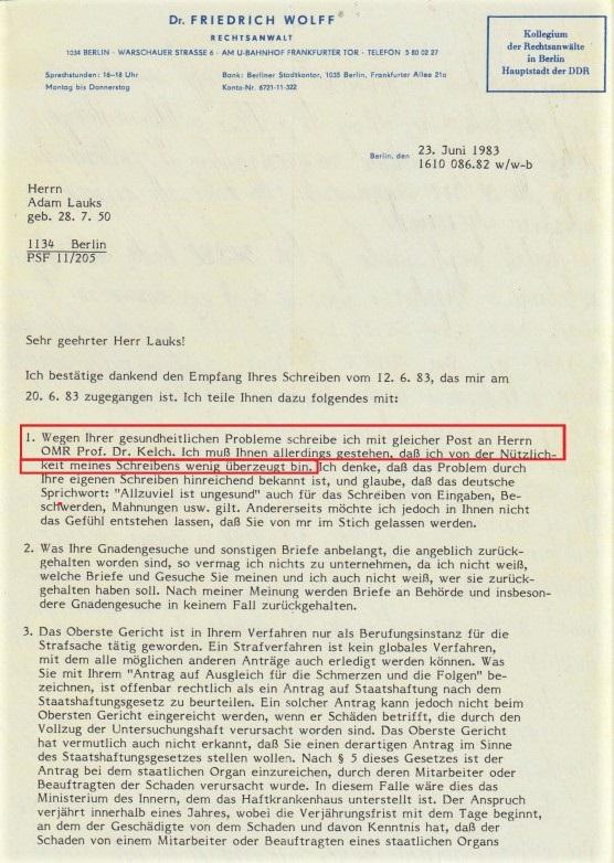 Zersetzung von Adam Lauks 1983.06.23.3