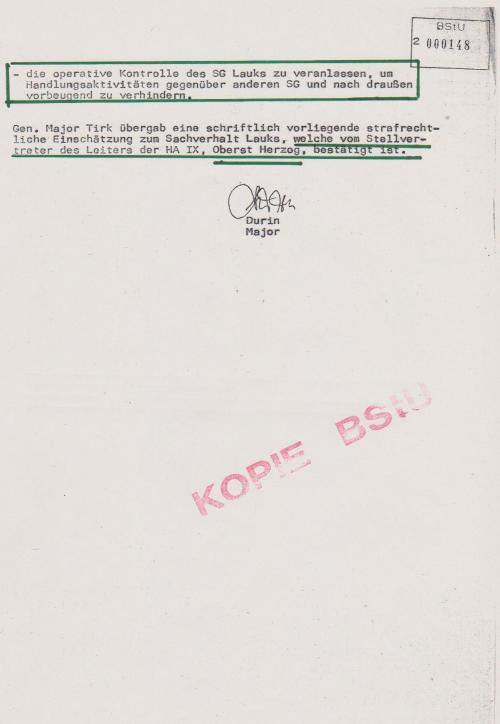 Da es erfoirderlich ist,Reaktion zu zeigen auf den Brief des SG Lauks wird vorgeschlagen: