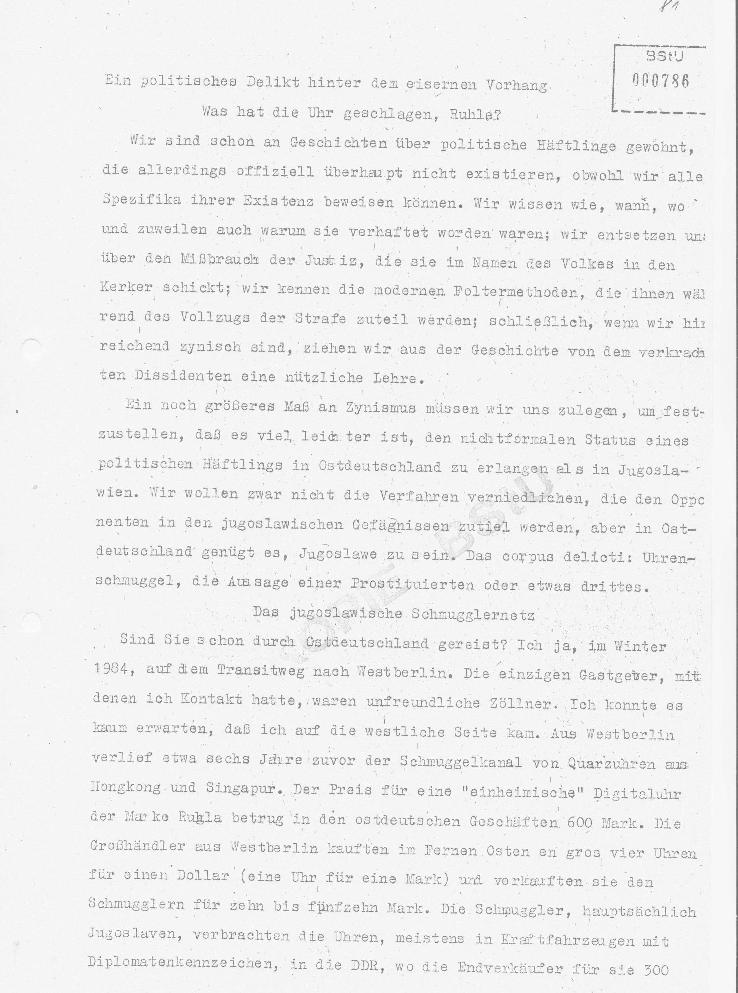 Gewissenhaft Ruhla Eurochron Antiquitäten & Kunst Armbanduhren Zifferblatt