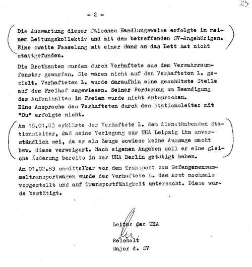 Am ersten 2.1983 nahm NAZI die Ligeerlaubnis aus der E-Akte damit man nicht sieht dass er sie gefälscht hatte- die war nicht auffindbar.