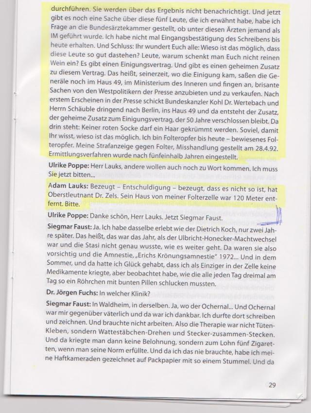 ZUSATZ zum Einigungsvertrag / Schäuble,Werthebach/Krause/MfS Generäle