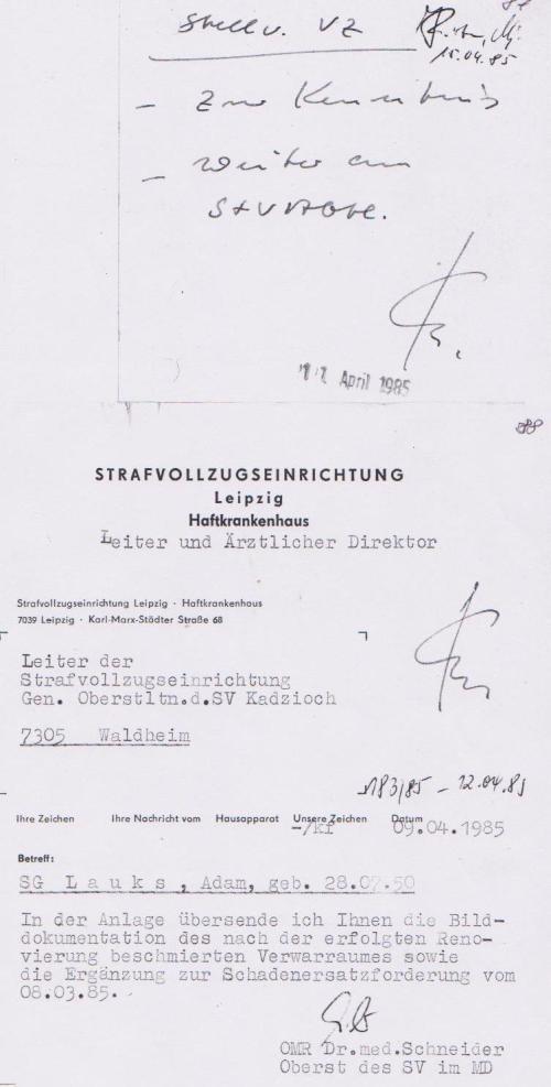 Krieg gegen die STAZIS - Kolateralschäden im HKH Leipzig Meusdor 004