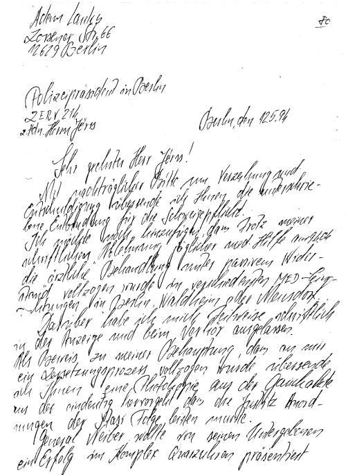 30 Js 1792 93 Ermittlungsverfahren der Staatsanwaltschaft II Bln 031