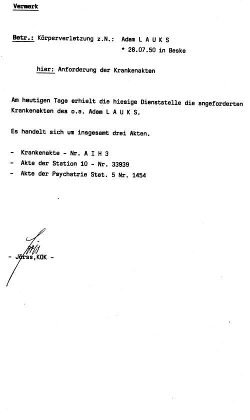 30 Js 1792 93 Ermittlungsverfahren der Staatsanwaltschaft II Bln 038