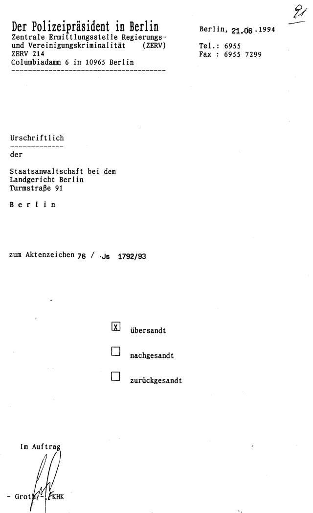 30 Js 1792 93 Ermittlungsverfahren der Staatsanwaltschaft II Bln 044