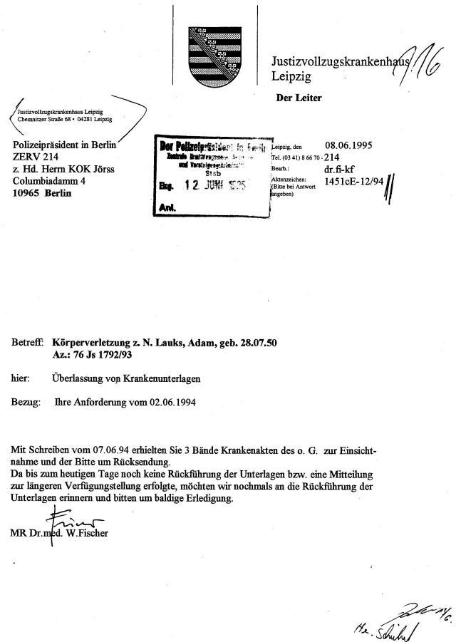 30 Js 1792 93 Ermittlungsverfahren der Staatsanwaltschaft II Bln 073