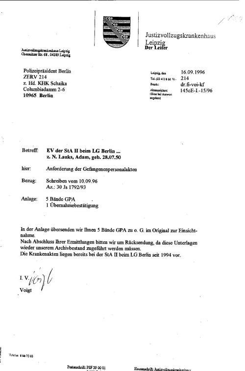 Ermittlungsverfahren 30 Js 1792 93 004