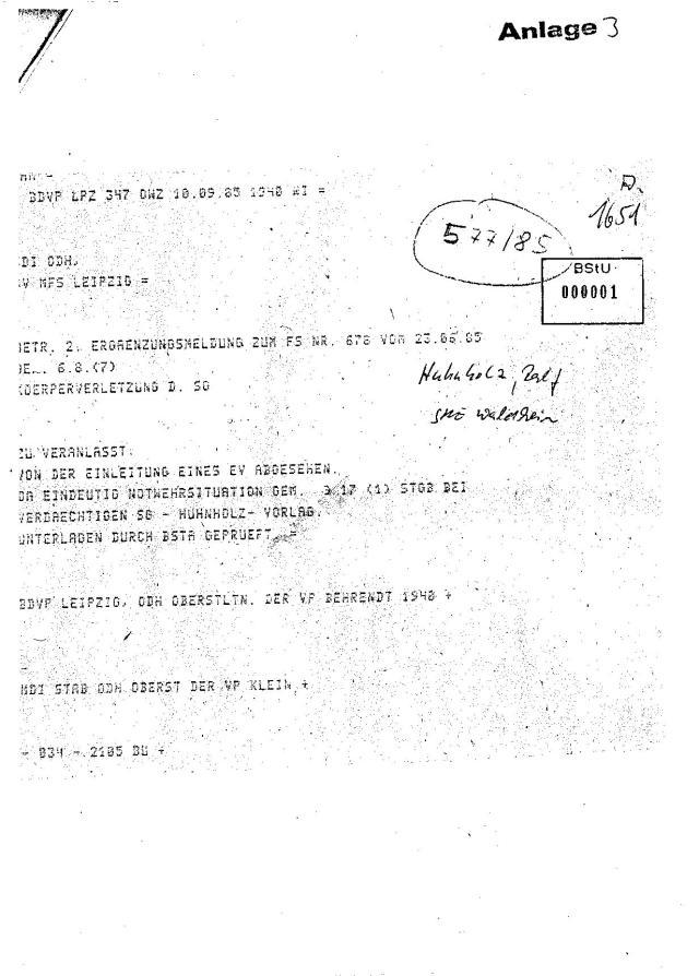 Strafanzeige gegen die Gauckbehörde 009