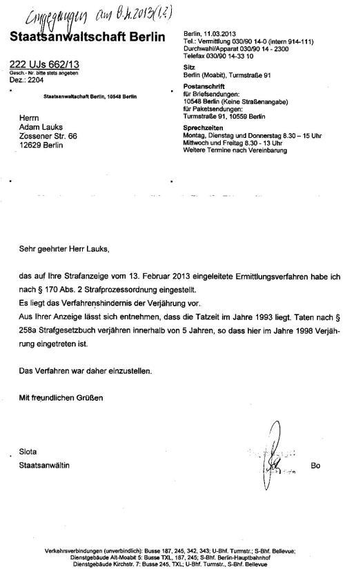 Krivica predsednika Gauka  zastarila- postupak obustavljen !