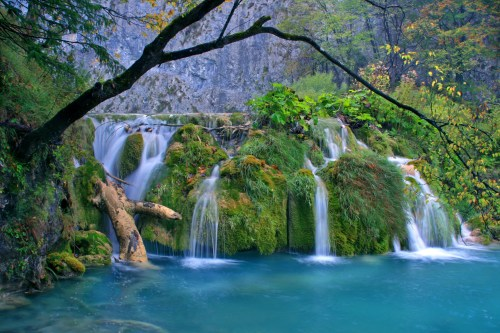Naturwunder der Schwarzen Königin von Plitvice