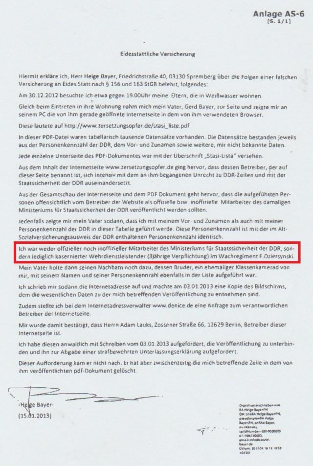 Nestbeschmutzer des Wachregiments Berlin Feliks Dzierzynsky vor Gericht
