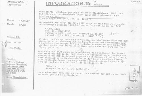 HV XXII  Terrorabwehr des MfS  - Stümper vor dem Herren 004