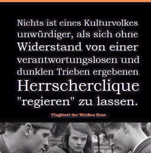 Sie sahen wo Deutschland reinschlittert... und mussten sterben... Ich lehnte mich gegen die STAZIS im Osten an und wäre beinahe erschossen..