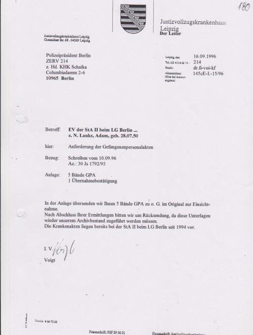 Generalstaatsanwaltschaft unterdrückt Beweise für Kieferbruch 017