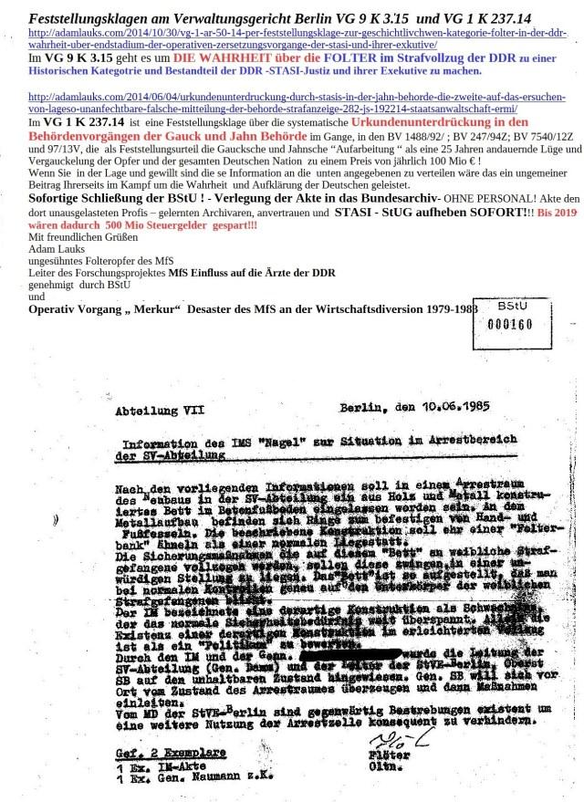 Diese Akte wurde  unterrdückt durch Gauck und Dr.Geiger